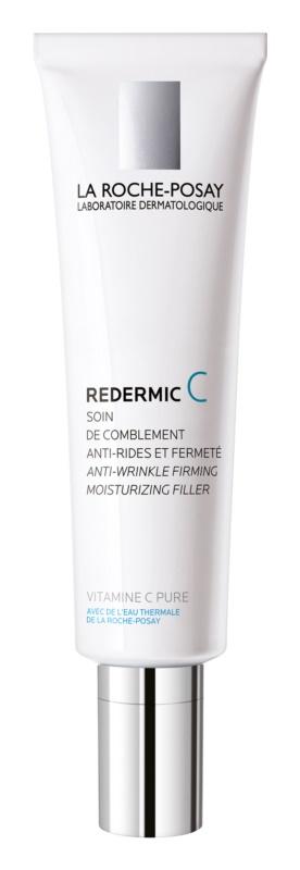 La Roche-Posay Redermic [C] Tages- und Nachtscreme gegen Falten für normale Haut und Mischhaut